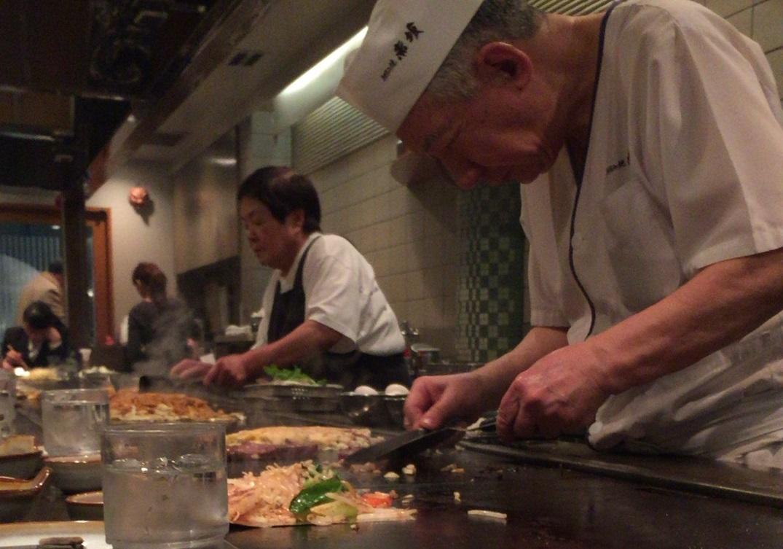 福岡も粉ものがうまい!福重お好み焼「赤坂」酸味が効いたソース