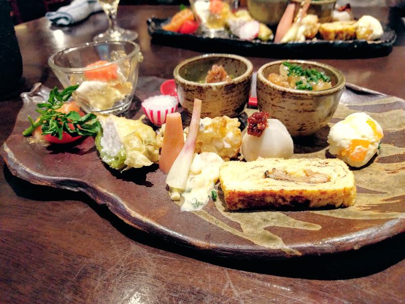 旬彩dining なのしずく料理1