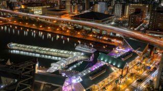 博多湾の夜景を楽しむ「どんたくナイトクルーズ2019」で幻想的な夜を演出