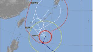 台風24号情報 9/30日曜日に福岡に最接近の見通し