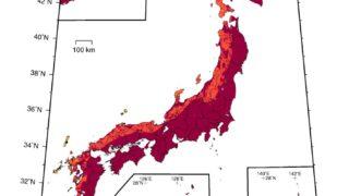 【福岡・地震】福岡が地震に襲われる確率!震度6弱以上のゆれの可能性は?