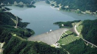 福岡県のダムの貯水率低下 水不足懸念