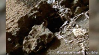 火星に人骨!?王冠を被った人骨発見!火星人はいるのか?