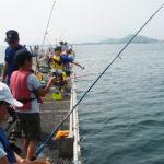 【海釣り公園】小中学生には無料開放!夏休みの5がつく日は海釣りに行こう!