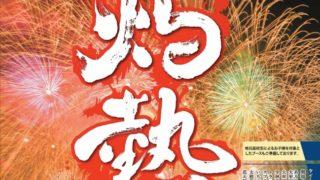 おおむた海上花火大会 『大蛇山』まつりの締め!観賞スポット紹介