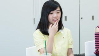 福岡雙葉高校「清原透子」小さな未来の福岡市長