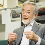 ノーベル生理学・医学賞の大隈良典氏に福岡市名誉市民の称号授与