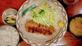 【平尾】「味のかつえだ」のおすすめメニュー とんかつ定食・ちゃんぽん