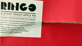 天神地下街RINGO 一度は食べたいおすすめのカスタードアップルパイ