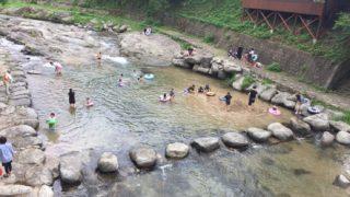 七山「鳴神公園」おすすめの川遊びスポット!福岡市内から1時間