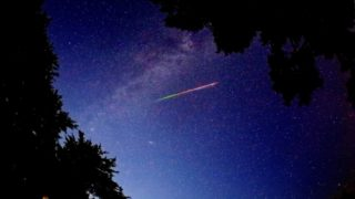 みずがめ座η(エータ)流星群が2019年5月7日早朝に極大