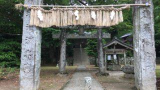 雷神社の樹齢1000年の大杉 糸島・雷山