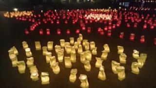 早良区加茂の千灯明祭は毎年9月15日開催