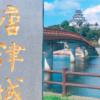 唐津城の天守閣展望フロア