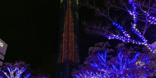 福岡タワー イルミネーション