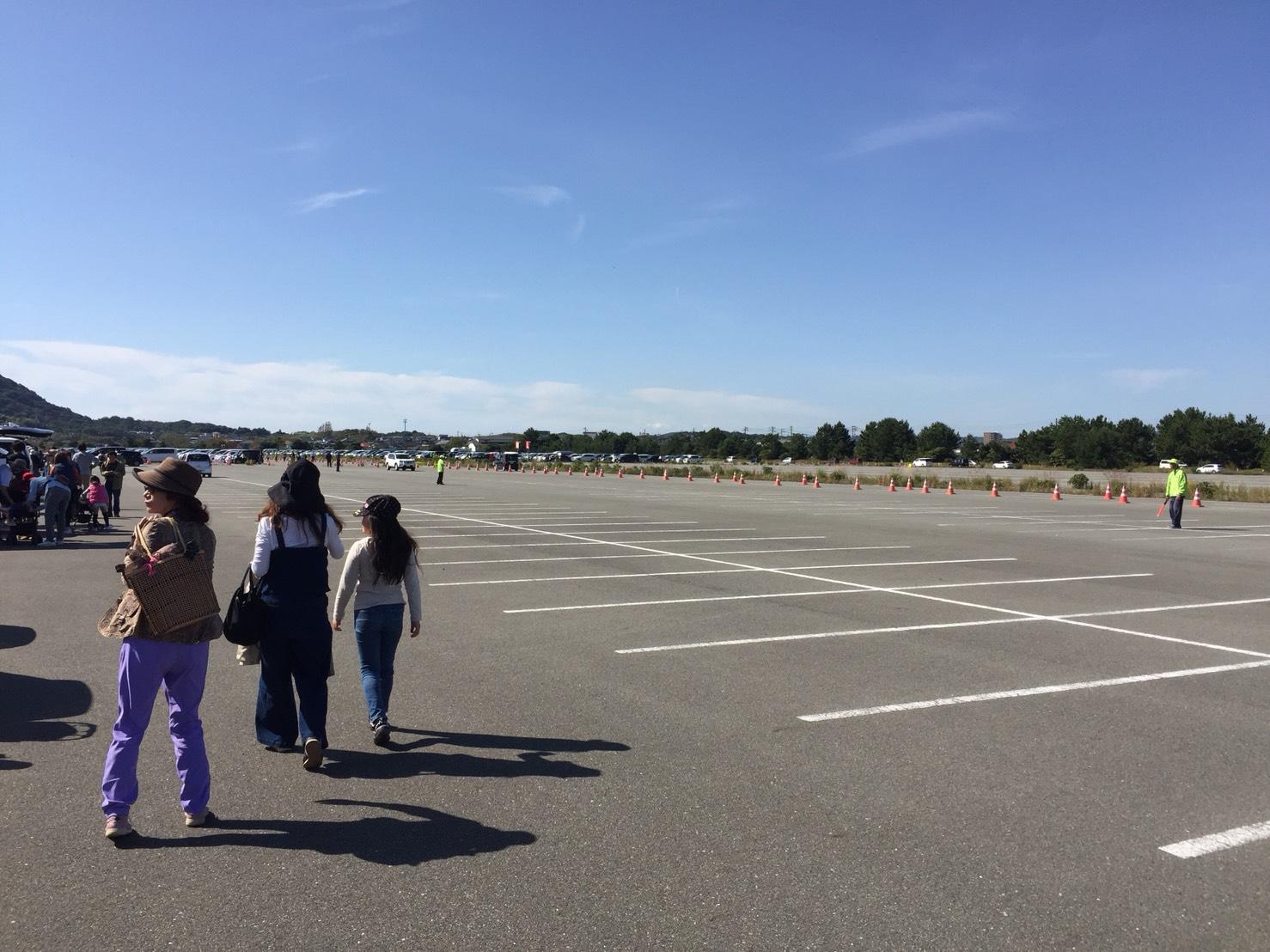 山口ゆめ花博 駐車場