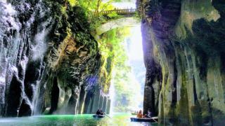 高千穂峡の絶景とボート乗り場までのアクセス・待ち時間少なく