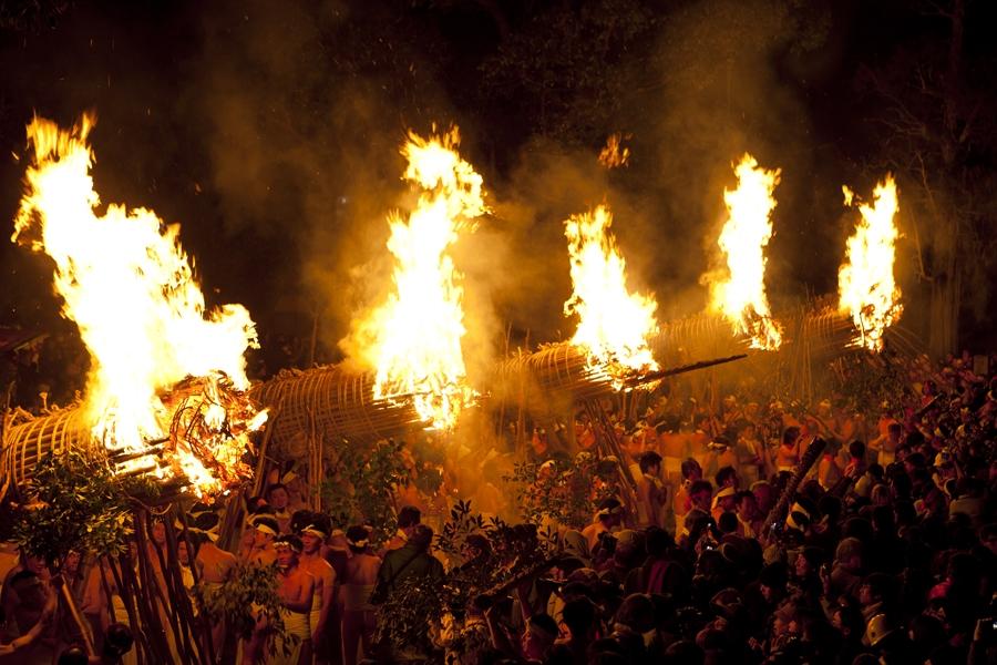 大善寺の鬼火
