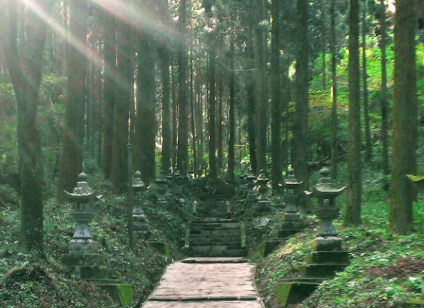 上色見熊野座神社1