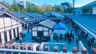 桜の馬場城彩苑 熊本城周辺の有名観光スポットでグルメを満喫