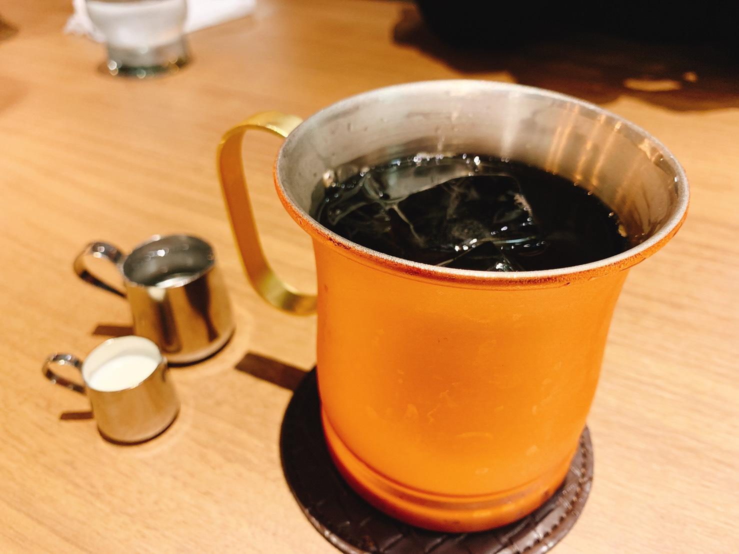 星野珈琲 イオンモール伊都店 アイスコーヒー