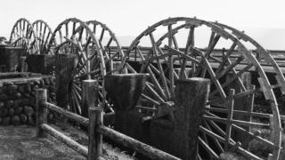 【朝倉の観光スポット】三連水車と朝倉の揚水車群