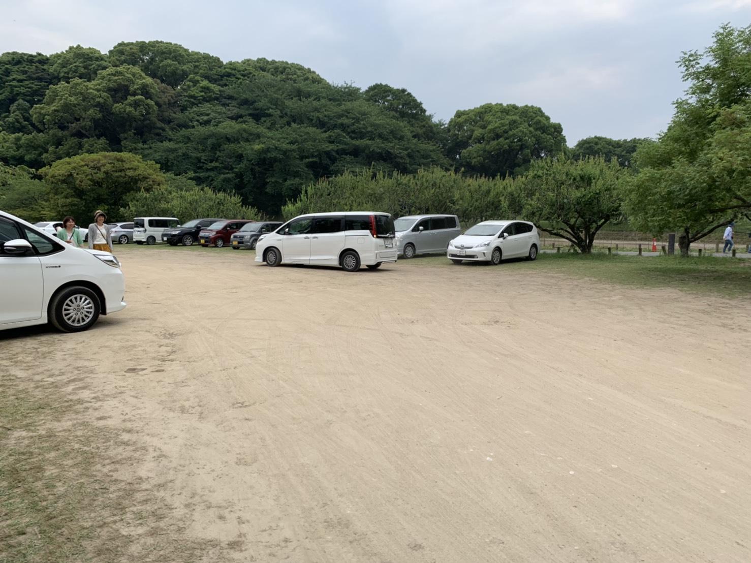 坂本八幡宮 駐車場