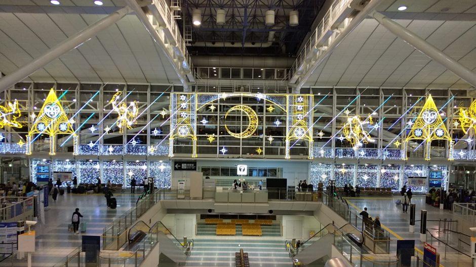 福岡空港のイルミネーション