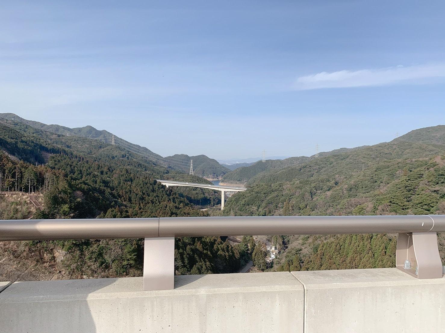 五ケ山ダム 景色