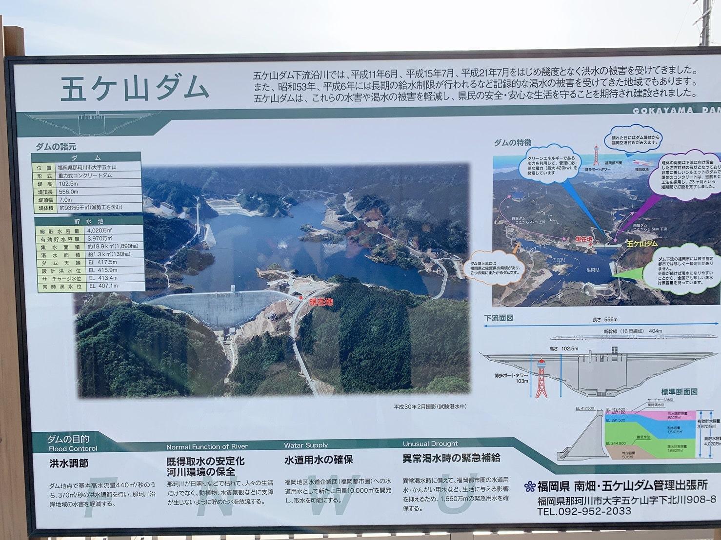 五ケ山ダム 説明
