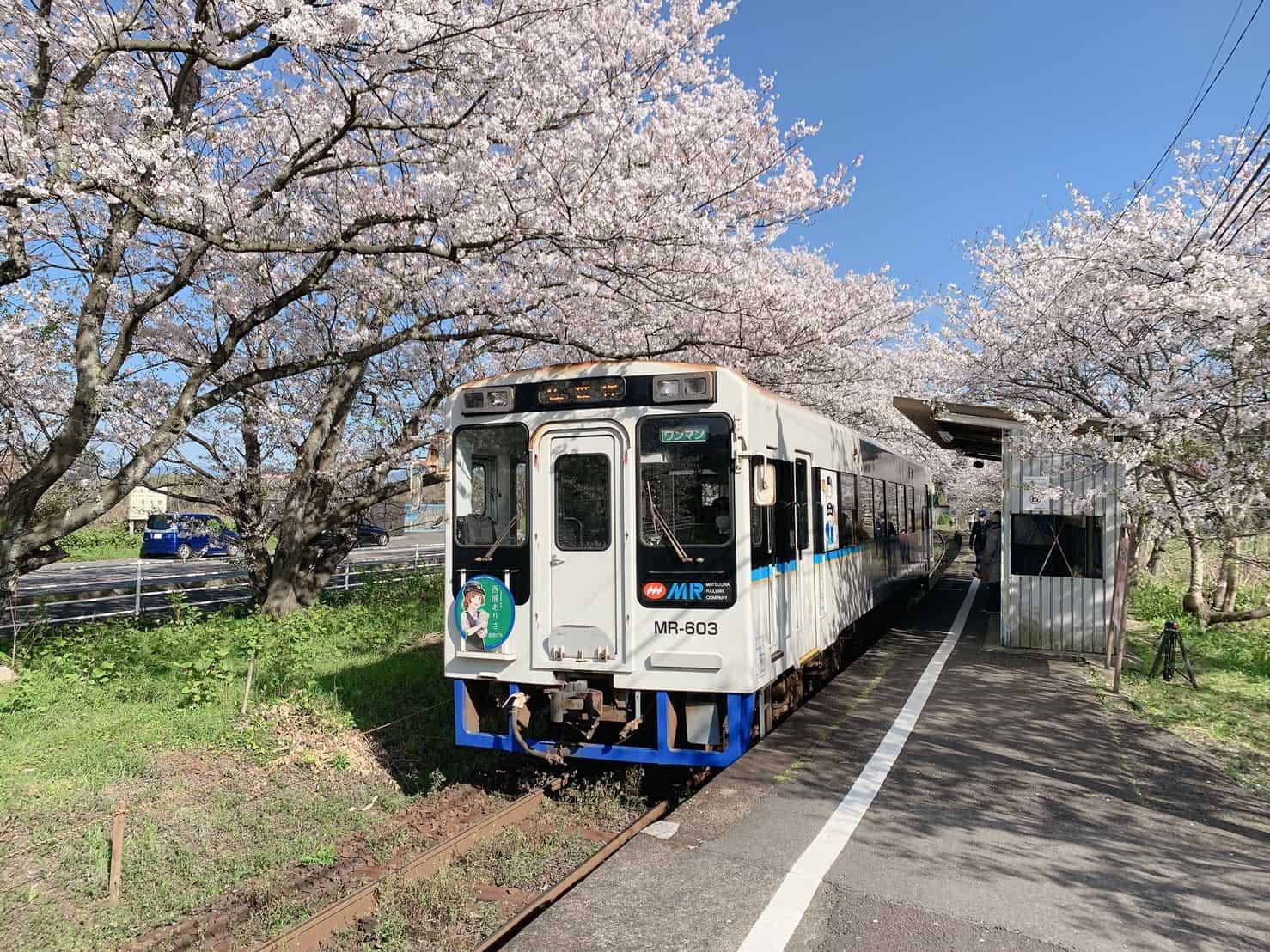 桜の駅「浦ノ崎駅」