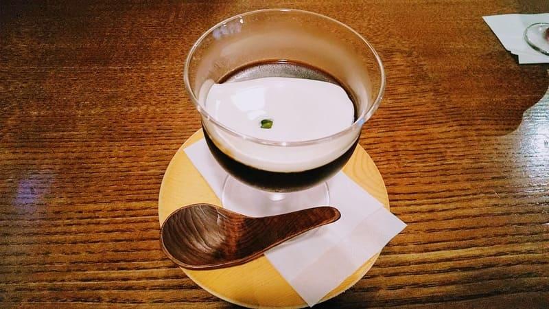 珈琲美美のコーヒーゼリー