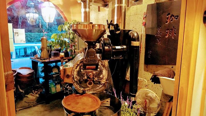 珈琲美美の焙煎室